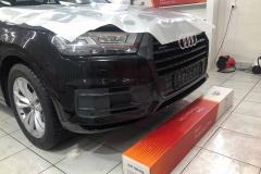 Антигравийная защита автомобиля Audi Q7, пленкой Llumar ppf 7mil