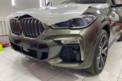 Антигравийная защита BMW X6 ,плёнка Llumar 🚙гарантия 5 лет!!!