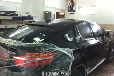 Тонировка автомобиля VIP класс BMW X6
