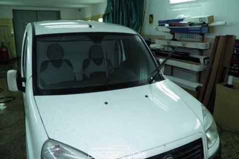 Тонировка лобового стекла Fiat, изначальный вид до тонировки