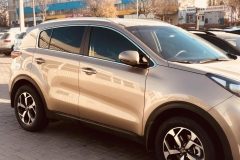 Тонировка автомобиля Hyundai Tucson пленкой Llumar atr 15%