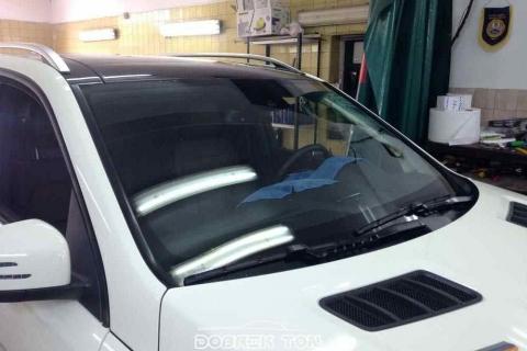 Тонировка автомобиля Mercedes-Benz ML 2012