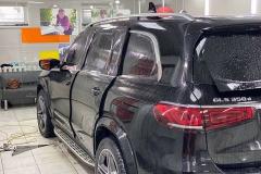 Тонировка Mercedes плёнкой Llumar Atc15