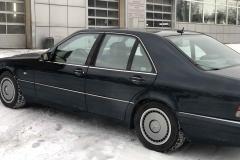 Тонировка легенды 90х, Mercedes w140