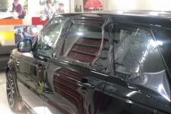 Тонировка автомобиля Range Rover пленкой llumar задняя часть atr 20%, передние стекла air 80%