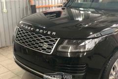 Бронировка автомобиля Range Rover