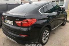 Тонировка автомобиля BMW X4