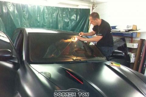 Тонировка автомобиля VIP класс Porsche Cayenne