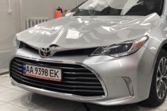 Покрытие защитной пленкой llumar автомобиля Toyota Avalon