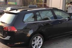 Тонировка авто Volkswagen Golf пленкой Llumar atn 20%