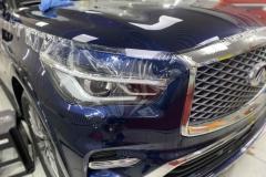 Защита автомобиля Infiniti QX80 пленкой llumar